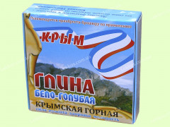 Глина бело-голубая Крымская горная,200гр