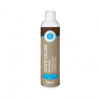 Кокосовый натуральный шампунь для волос