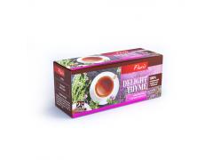 DeLight Thyme черный чай с чабрецом, в пакетиках 25шт