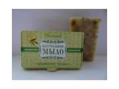 Мыло на оливковом масле Крымские Травы, 50гр