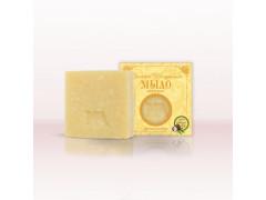 Мыло на оливковом масле Абрикос-скраб, 92гр