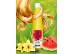 Безсульфатный шампунь с соком арбуза для всех типов волос,350гр