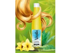 Безсульфатный шампунь с соком агавы для волос,жирных у корней и сухих на концах,350гр