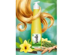 Безсульфатный бальзам-ополаскиватель для сухих и поврежденных волос с экстрактом хвои,350гр