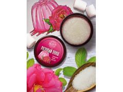 Сахарный скраб для губ Розовый пунш