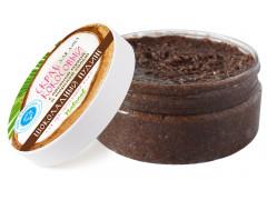 Кокосовый скраб Шоколадный пудинг для чувствительной кожи