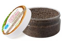 Кокосовый скраб Кофе со сливками  для комбинированной кожи