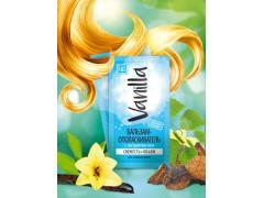 Безсульфатный бальзам-ополаскиватель с экстрактом чаги, для жирных волос, 10гр