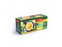 Spicy Ginger зеленый чай с имберем, в пакетиках 25шт