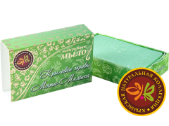 Мыло натуральное ручной работы Мята-Мелисса,75гр