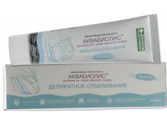 Зубная паста Аквабиолис Деликатное отбеливание, 100мл