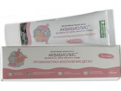 Зубная паста Аквабиолис Профилактика воспаления десен,100мл