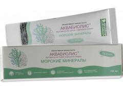 Зубная паста Аквабиолис Морские минералы, 100мл